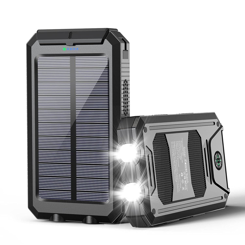 Ayyie Portable Solar Charger Powerbank