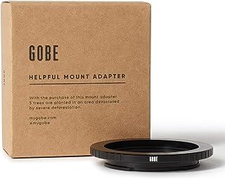 Gobe - Adaptador de Lente Compatible para Lentes C (Cine & CCTV) y cuerpos de cámara Sony E