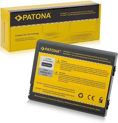 6600mAh PATONA Akku f HP Compaq NX9105 NX9600 NX9110 NX9100 ZV5000 Schätzpreis : 35,50 €