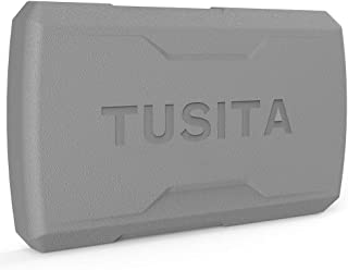 TUSITA Sun Cover for Garmin Striker 7cv 7dv 7sv, Striker Plus 7cv 7sv - Silicone Protective Case - Fishfinder GPS Accessories