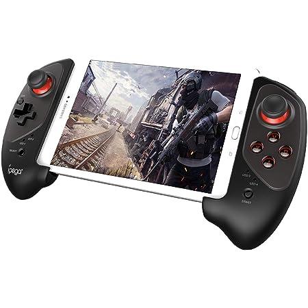 【ipega公式製品】ipega PG-9083S伸縮性のゲームパッド Bluetoothワイヤレス コントローラー スマホ Android テレビ PC支持 コントローラー 日本語説明書