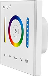 LIGHTEU, Smart Panel Controller P3 Smart Panel LED Controller RGB RGBW RGB + CCT 12V 24V Touch Schakelaar Dimmer