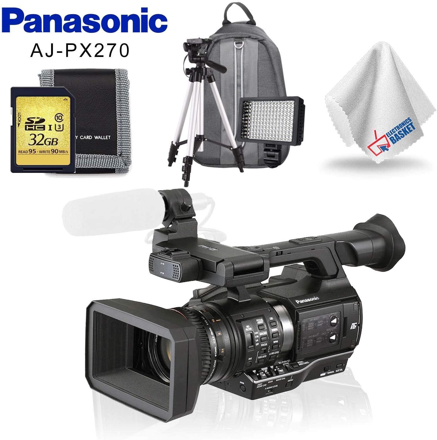 price Panasonic AJ-PX270 microP2 Handheld Phoenix Mall AVC-Ultra + HD Camcorder Mem