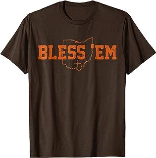 Bless 'Em Browns Shirt (Vintage Distressed Print) men women