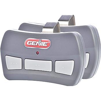Genie 3 Button Garage Door Opener Remotes 2 Pack Each Remote Controls Up To 3 Garage Door Openers Compatibility Only With Genie Intellicode Garage Door Openers Using 390mhz Model Gitr 3 Amazon Com