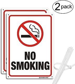 Best metal no smoking signs Reviews