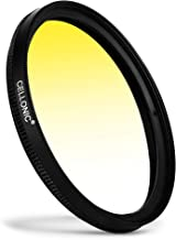 CELLONIC   Graduated color filter Yellow compatible with Tamron 62mm Gradient Filter