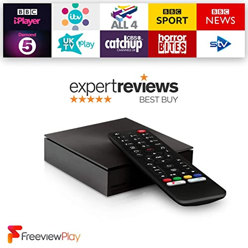 Netgem NetBox: Full HD Freeview TV box with Freeview Play built-in, Streaming apps and recommendations with netgem.tv mobile app