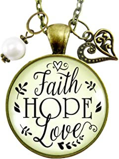 hope faith miracle jewelry