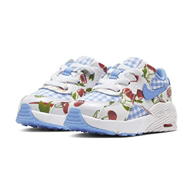 Nike Kids Air Max Excee (Infant/Toddler) (White/University Blue/Track Red) Girls Shoes