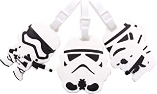 Set of 3 - Super Cute Kawaii Cartoon Silicone Travel Luggage ID Tag for Bags (Storm Troopers)