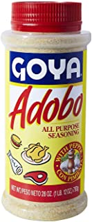 Goya Adobo All Purpose Seasoning with Pepper Extra Large 28 oz Shakeable Canister
