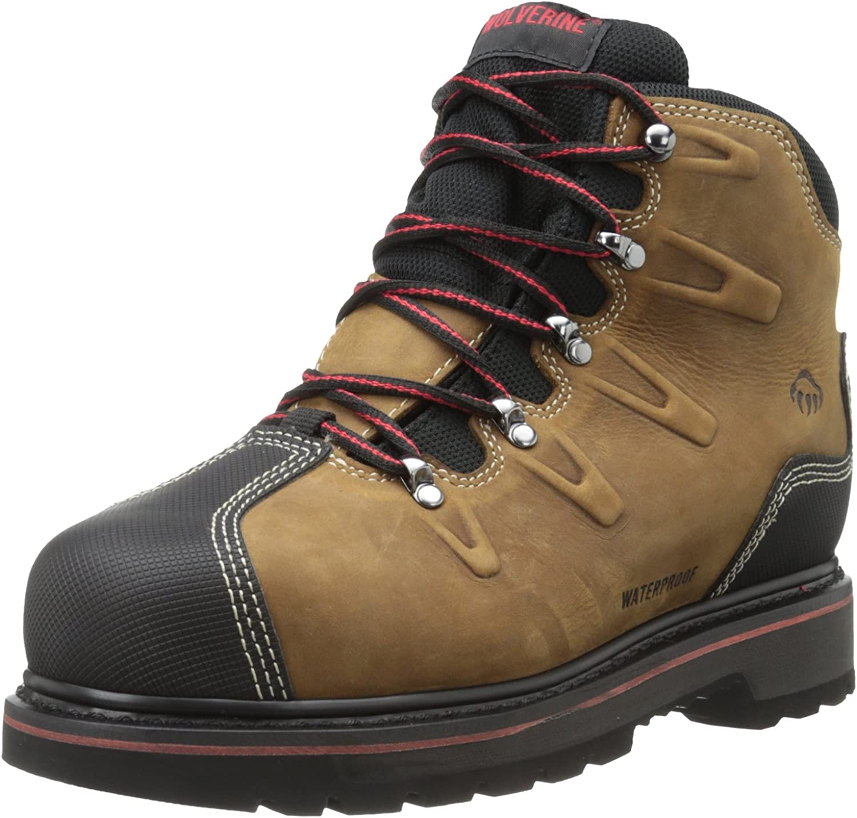 Wolverine Men's Hacksaw Low Steel Work Boot