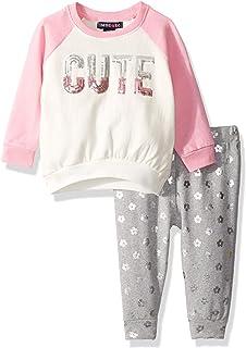Limited Too Baby Girls 2 Piece Fleece Jog Set