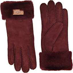 Turn Cuff Water Resistant Sheepskin Gloves