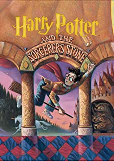 MightyPrint Harry Potter (Book Cover - Sorcerers Stone) Wall Art Next Generation Premium Print