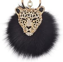 Giftale Leopard Handbag Charms Accessories Purse Keychain for Women,#4181
