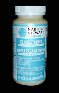 Martha Stewart Crafts Glass Etch Cream (20.79-Ounce), 33221