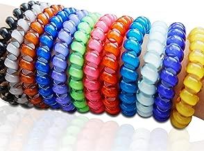 Monkey Stix Swirly Bands 10 Pack - Fidget Bracelets, ADHD, Autism, Anxiety Toy - Sensory and Motor aid Spectrum mild Bracelet Autistic Teacher Classroom