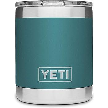 [(イエティ) YETI] [296ml ミニタンブラー ローボールシリーズ, リバーグリーン Rambler Lowball 10oz Stainless Steel Cup with Lid, River Green] (並行輸入品)