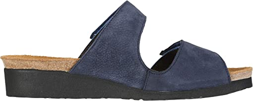 Navy Velvet Nubuck/Oily Blue Leather/Oily Coal Nubuck