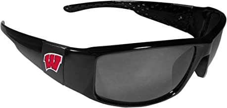 Siskiyou NCAA Unisex Black Wrap Sunglasses