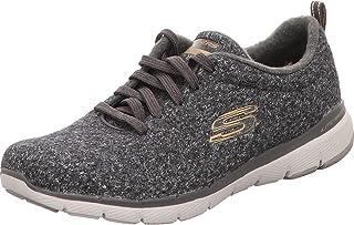 Skechers Sport Womens Flex Appeal 3.0 Plush Joy Sneakers Women Grey