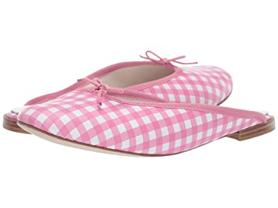 Repetto Leila Ballerina Mule (Pink Gingham) Women