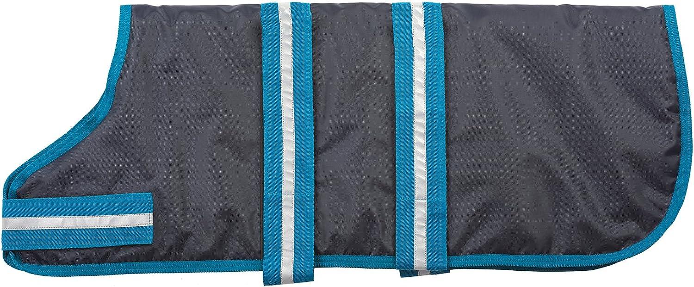 Fashion Pet Outdoor Dog Blanket Coat, Medium, bluee