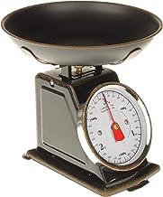MACOSA SA79726 Balance de cuisine rétro avec bol pesée Balance ménager mécanique jusqu'à 3 kg Design vintage Balance alime...