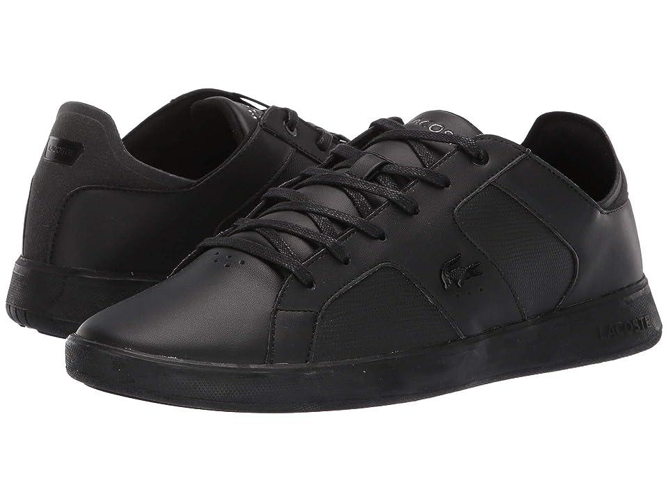 Lacoste Novas 119 4 (Black/Black) Men