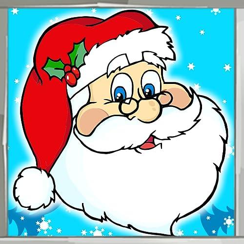 Weihnachtsmann Malbuch