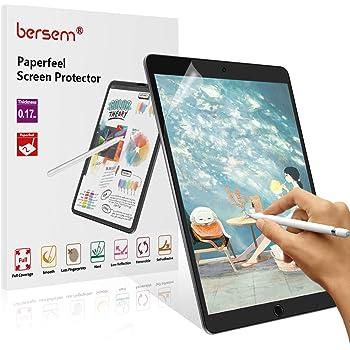 BERSEM[2 Pack]Paperfeel iPad 9.7 Screen Protector, iPad screen protector 9.7 Matte PET Film for Drawing Anti-Glare and Paperfeel iPad Pro 9.7 Inch/iPad Air 2 / iPad Air