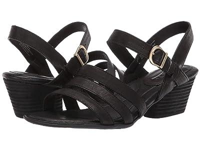 Born LaSal (Black Full Grain Leather) Women