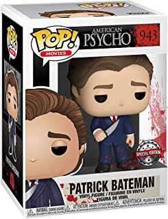 Funko Pop! Movies: American Psycho- Patrick in suit w/Kni (Exc), Action Figure - 47087