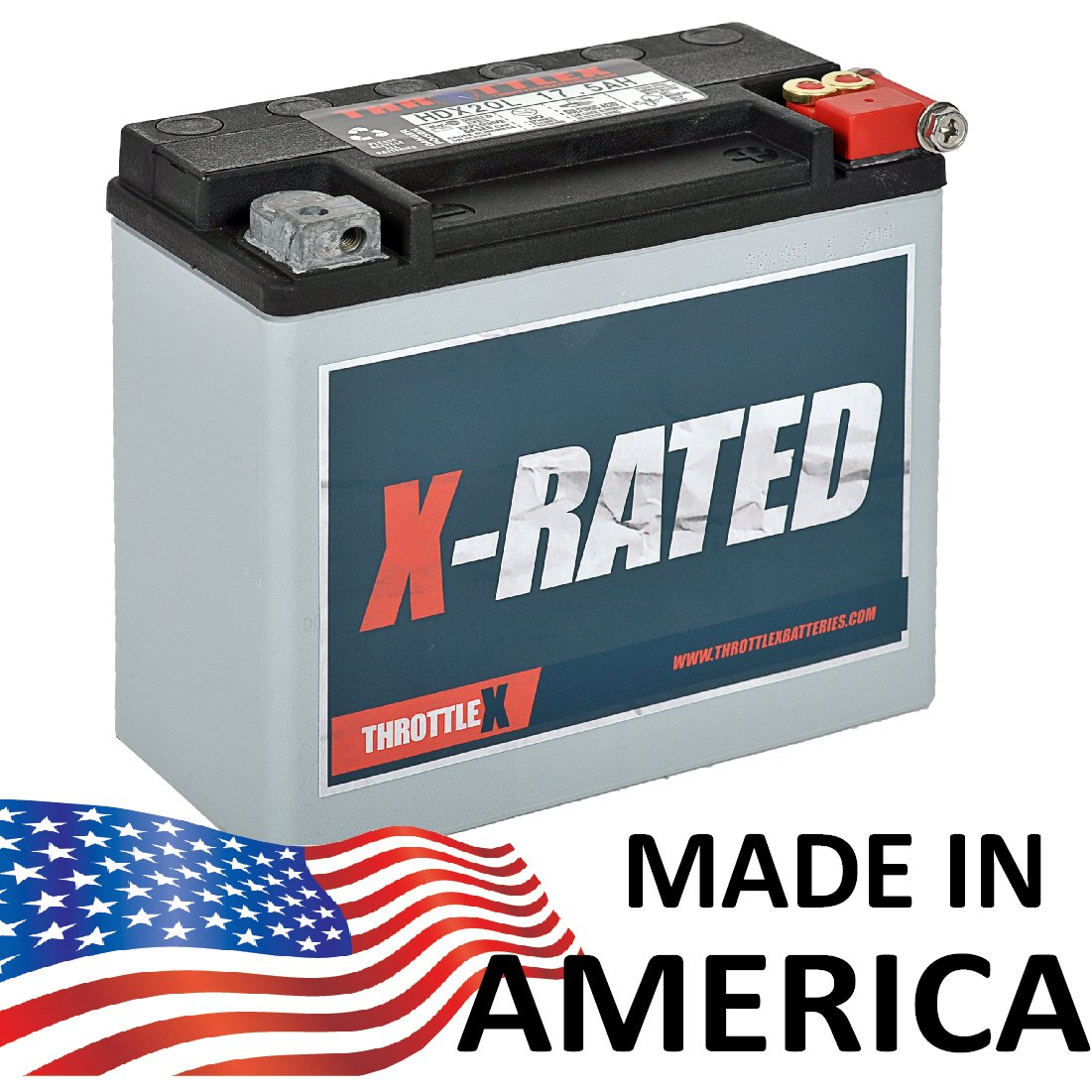 HDX20L Davidson Replacement Motorcycle Battery