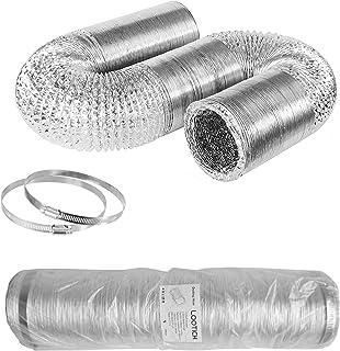 LOOTICH Tubo Flexible de Aluminio Ø100mm Longitud 8m para
