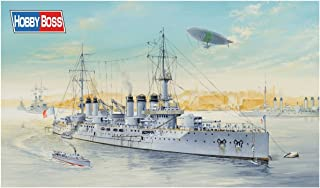 Hobby Boss French Navy Pre-Dreadnought Battleship Voltaire 1/350 Ship Model Kit