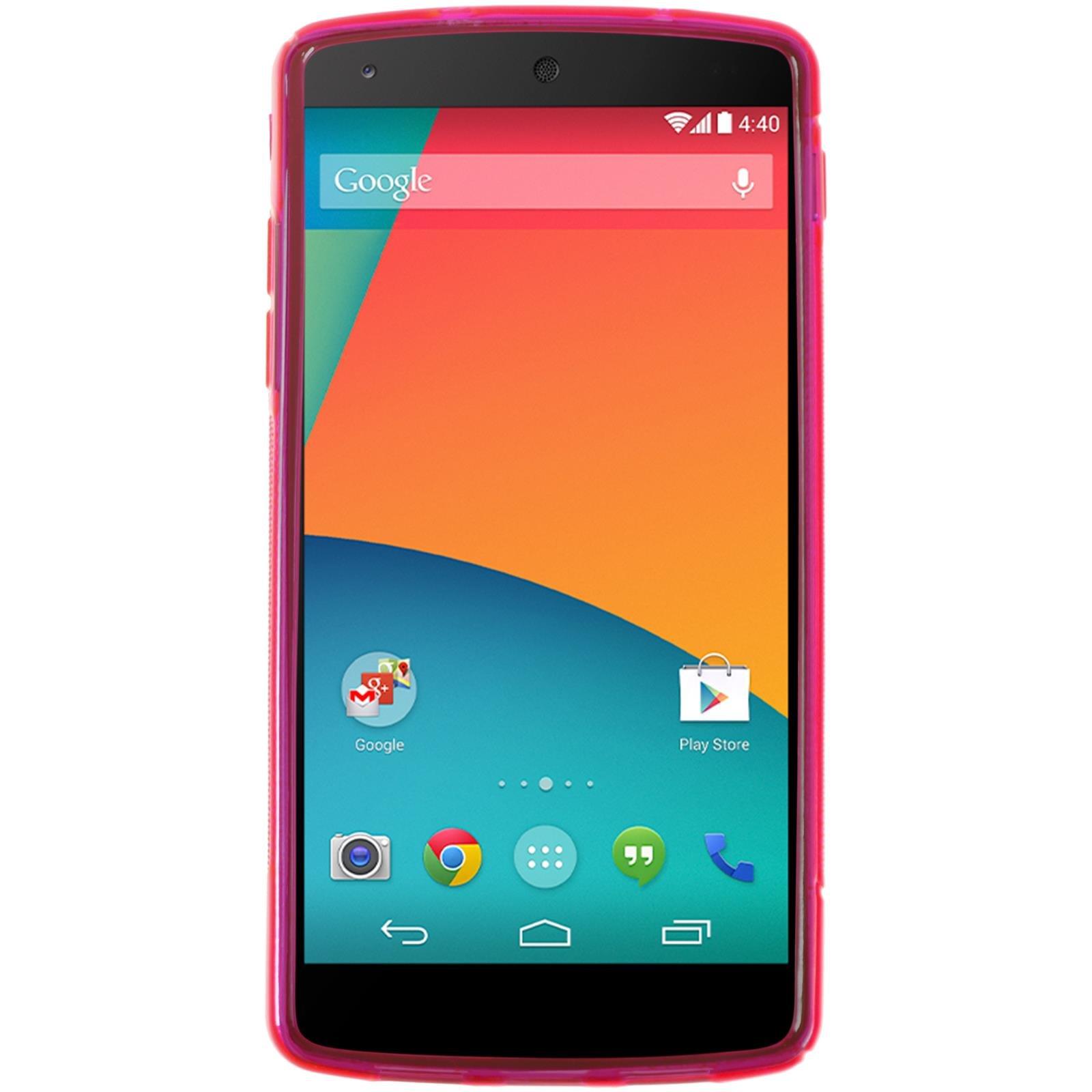 PhoneNatic Funda Google Nexus 5 Carcasa Rosa Cálido S-Style Nexus ...