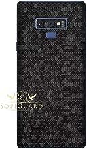 SopiGuard Skin for Samsung Note 9 Precision Edge-to-Edge Vinyl Sticker (Honeycomb Black)