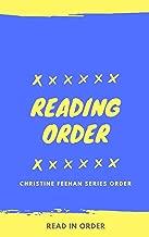 Reading Order: Christine Feehan: Series Order of Dark Carpathian Series, Sea Haven Series, Ghostwalker, Leopard Series Plus All Others and Short Stories