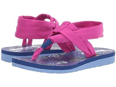 SKECHERS KIDS Meditation 86992L (Little Kid/Big Kid) (Hot Pink/Navy) Girl