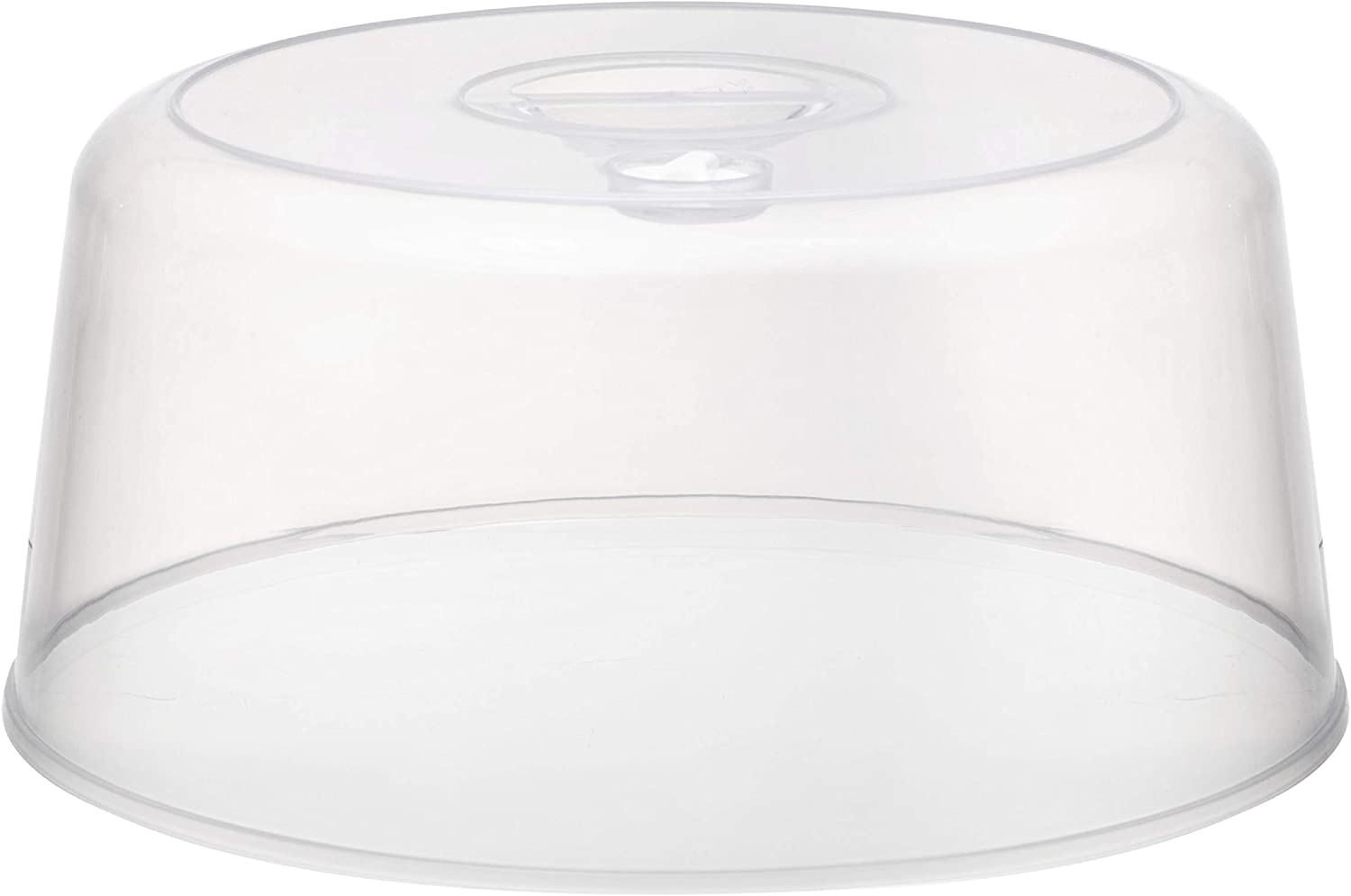 Clear Microwave Plate Cover Food Dish Lid Ventilated Steam Vent Kitchen ODHN xl