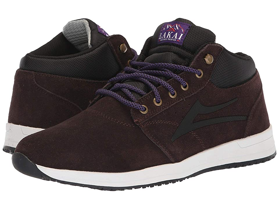 Lakai Griffin Mid Weather Treated (Chocolate Suede) Men