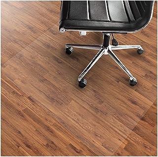 Transparent Chair Mat,Vinilo PVC plástico No Tóxico Sin Olor Antideslizante Protector Suelo para Pisos De Madera Casa Oficina Alfombrilla Protectora-1.0mm-80x80cm(31x31inch)