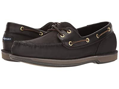 Rockport Ports of Call Perth (Black/Bark) Men