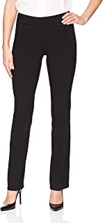 Amazon Brand - Lark & Ro Women's Barely Bootcut Stretch Pant: Comfort Fit