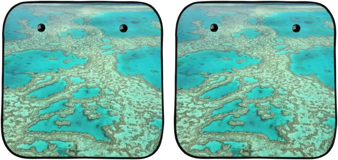 ENEVOTX Kids Regular Max 80% OFF discount Window Shade for Car C Great Australia Barrier Reef
