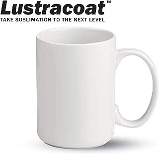 15 oz. ''El Grande'' Stoneware Sublimation Mug