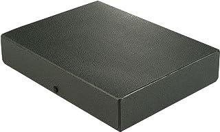 Elba 31416SW Boîte à documents en carton pour 580 feuilles 315 x 240 x 65 mm (Noir)